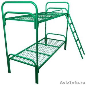 кровати двухъярусные для строителей , кровати для санатория, кровати для лагеря - Изображение #7, Объявление #902891