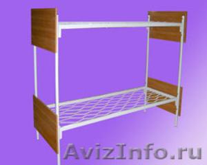 кровати двухъярусные для строителей , кровати для санатория, кровати для лагеря - Изображение #4, Объявление #902891