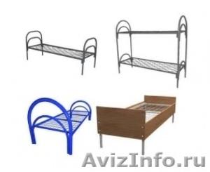 Металлические кровати для общежитий, кровати армейские, кровати одноярусные. - Изображение #2, Объявление #1479380