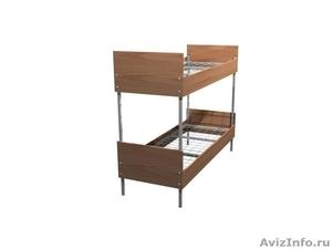 Кровати металлические одноярусные, кровати металлические двухъярусные. - Изображение #1, Объявление #1478873