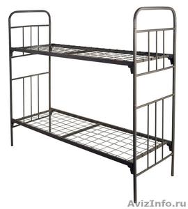 Кровати металлические одноярусные, кровати металлические двухъярусные. - Изображение #5, Объявление #1478873