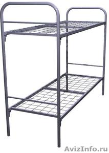 Кровати металлические для времянок, кровати для общежитий, кровати низкая цена - Изображение #1, Объявление #1479373