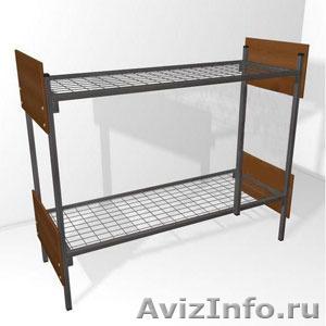 Кровати металлические для времянок, кровати для общежитий, кровати низкая цена - Изображение #5, Объявление #1479373