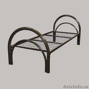 Кровати металлические одноярусные, кровати металлические двухъярусные. - Изображение #2, Объявление #1478873