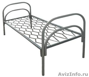 Кровати металлические для времянок, кровати для общежитий, кровати низкая цена - Изображение #3, Объявление #1479373