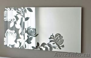 Зеркала с рисунком для мебели. Нанесение рисунков любой сложности - Изображение #1, Объявление #1040108