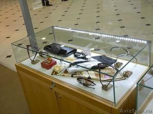 Витрины, стойки и прилавки из стекла под заказ. Доставка, монтаж. - Изображение #1, Объявление #1504815