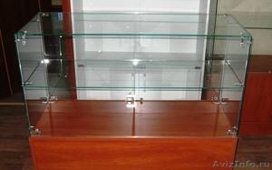 Витрины, стойки и прилавки из стекла под заказ. Доставка, монтаж. - Изображение #2, Объявление #1504815