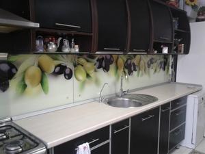 Стекло для кухни с фотопечатью. Фартук из стекла. - Изображение #2, Объявление #1163383