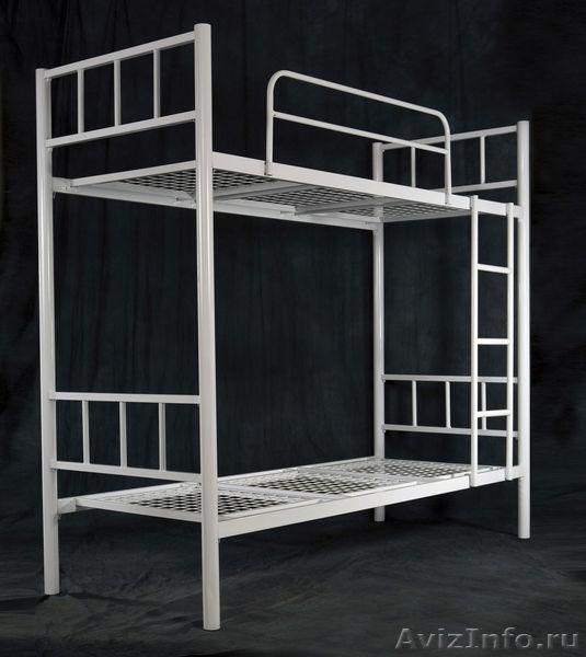 Металлические кровати для общежитий, кровати армейские, кровати одноярусные., Объявление #1479380